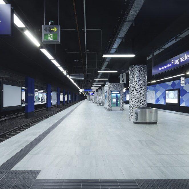 Regionalbahnhof Frankfurt Flughafen Referenz